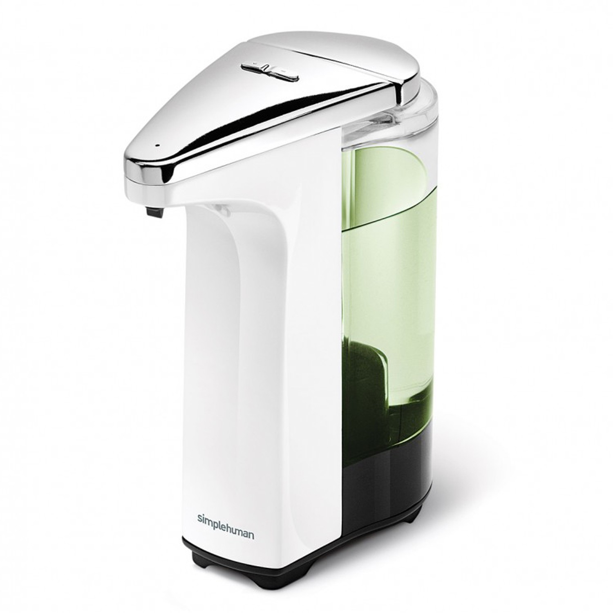 simplehuman sensor soap pump white leekes