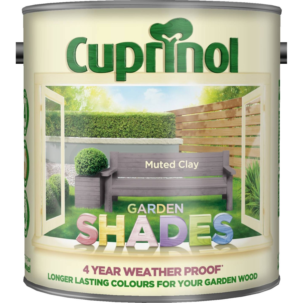 Cuprinol 2 5l Garden Shades Paint Muted Clay Leekes