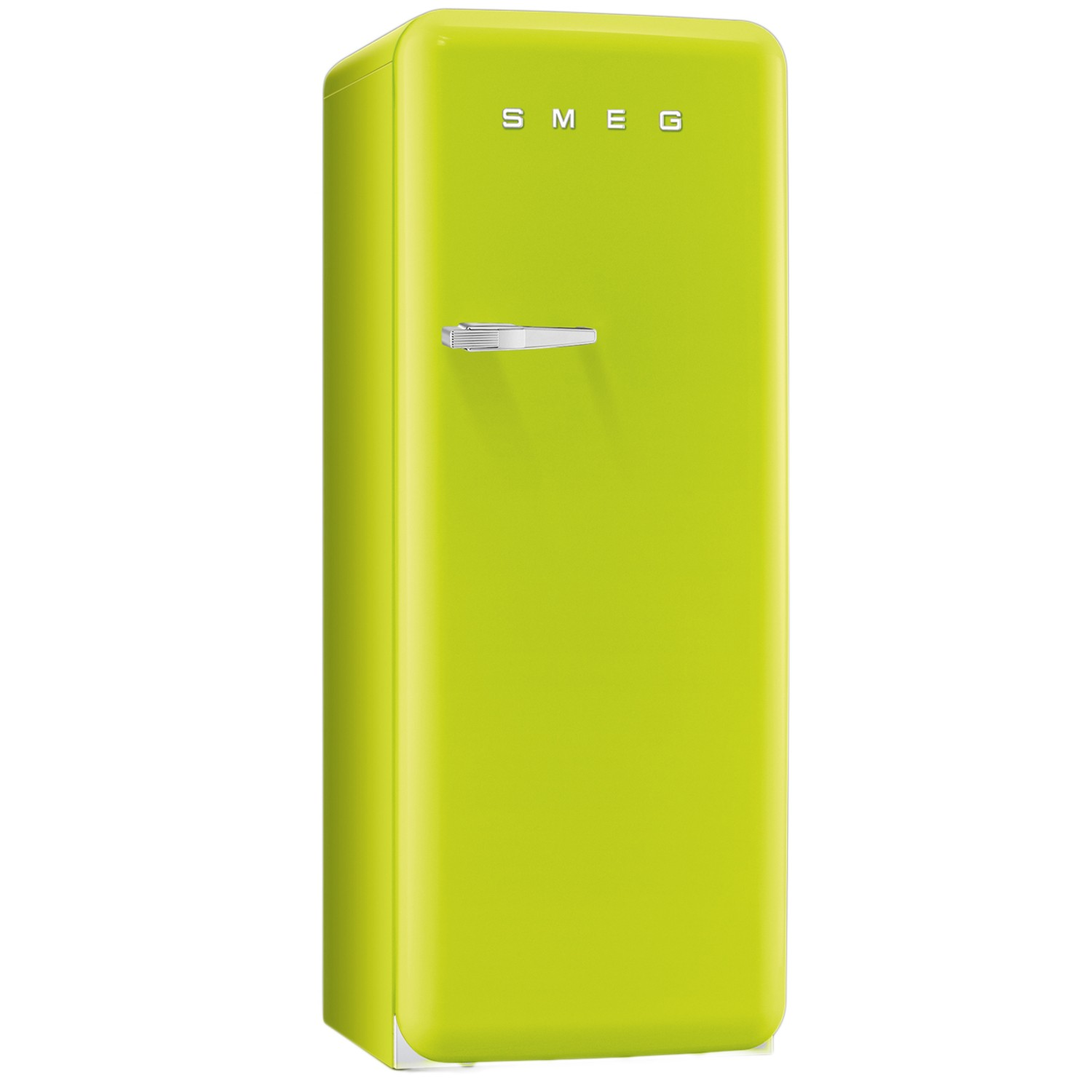 Smeg FAB28QVE1 Freestanding Fridge, Lime Green  Leekes
