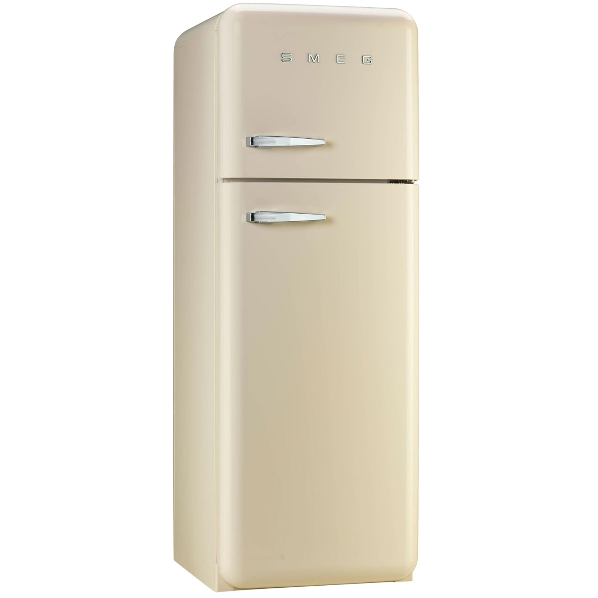 Smeg fab30rfc freestanding fridge freezer 60cm cream leek for Smeg fridge