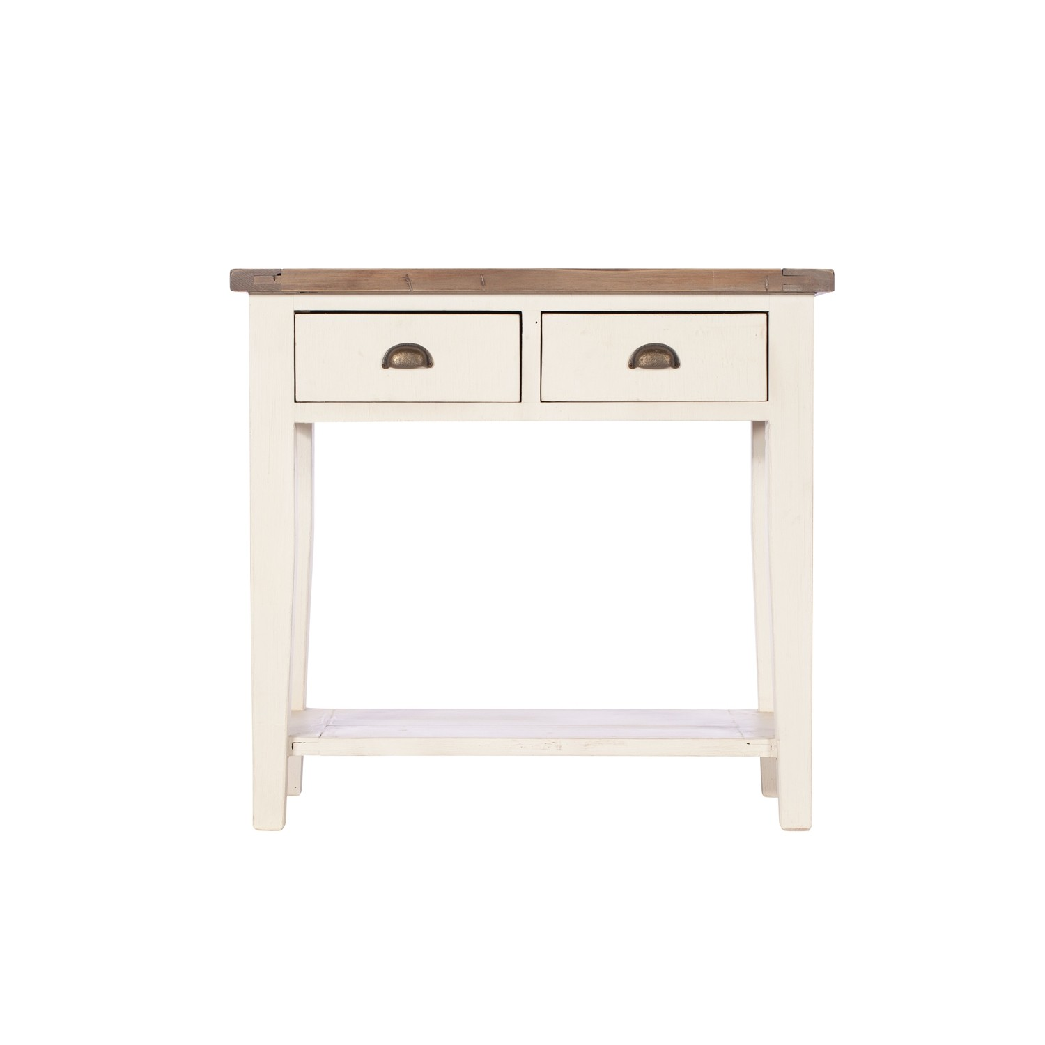 Casa cotswold 2 drawer hall table white leekes - White hall table uk ...