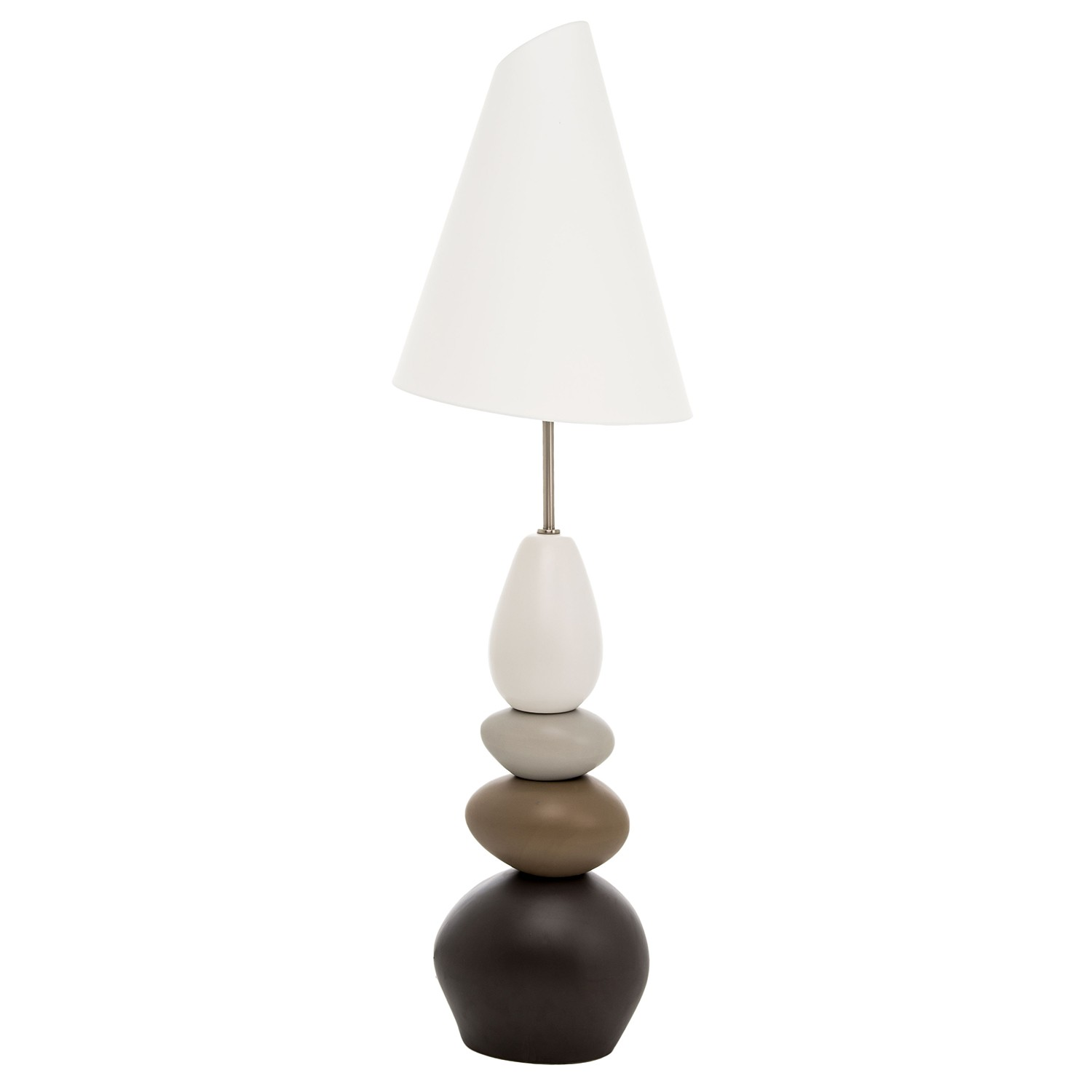 Pebble floor lamp leekes for Large pebble floor lamp