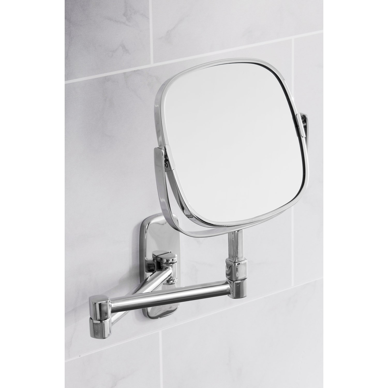 Robert Welch Burford Extending Mirror, Stainless Steel | Lee