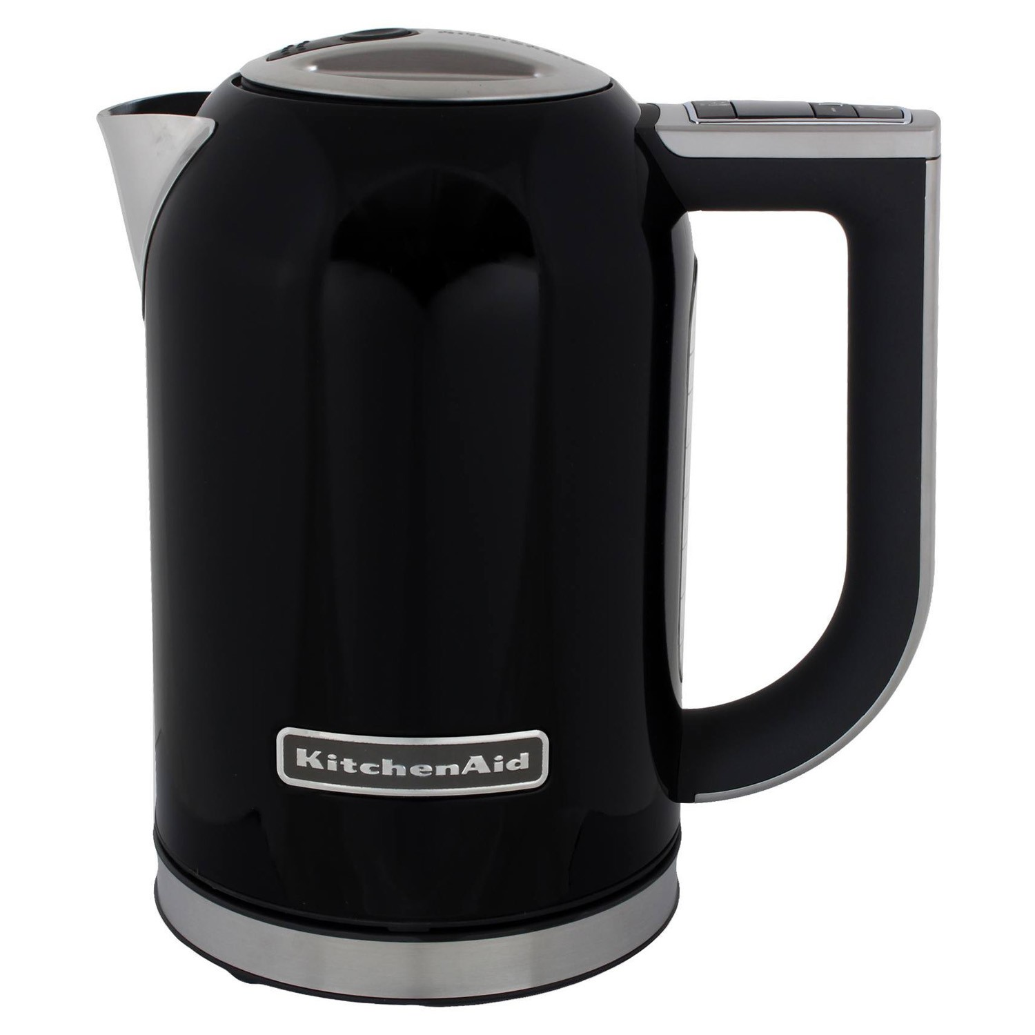 Kitchenaid 1 7 litre kettle onyx black leekes for Kitchenaid 0 finance