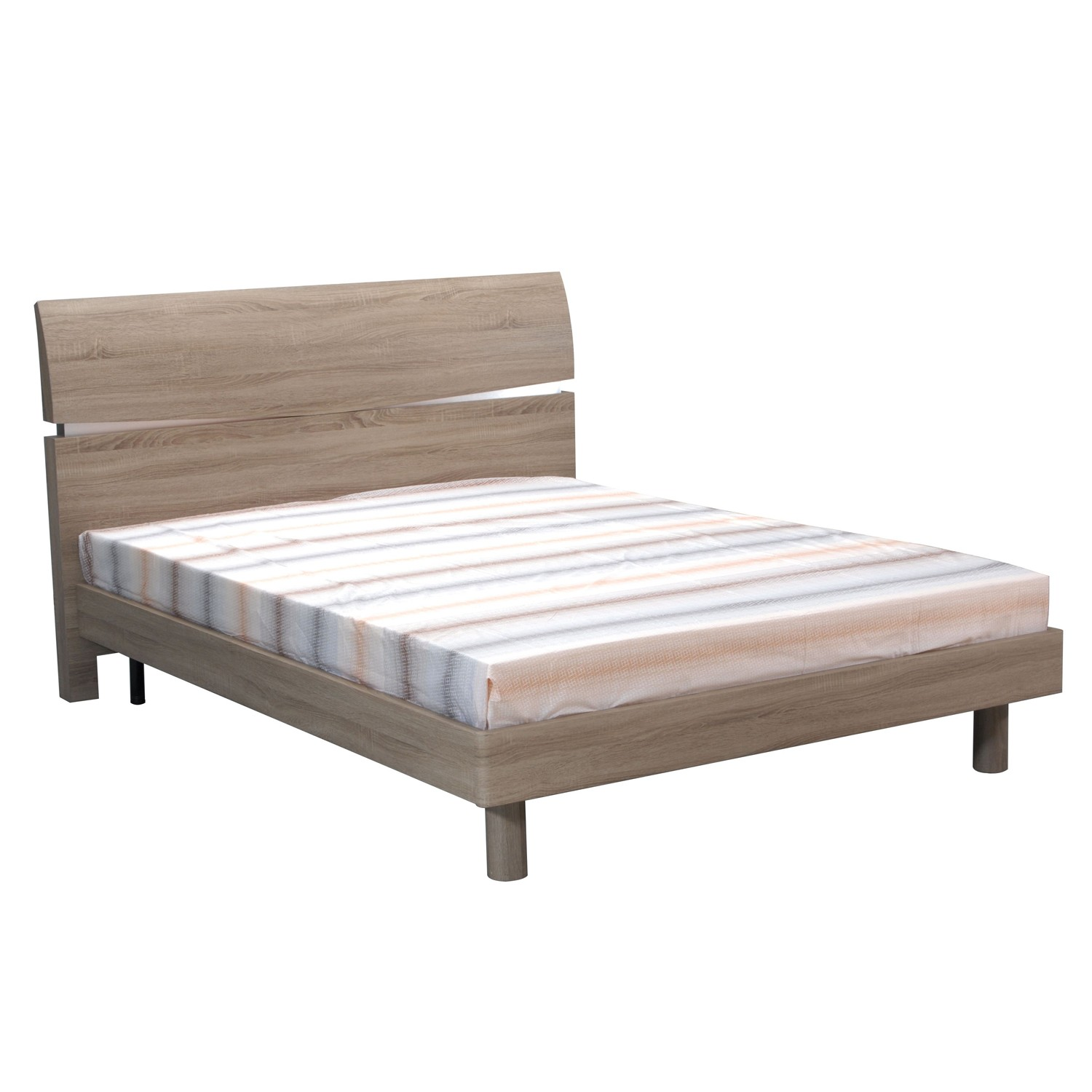 Mia Bedroom Furniture Casa Mia King Size Bed Frame King Oak Leekes