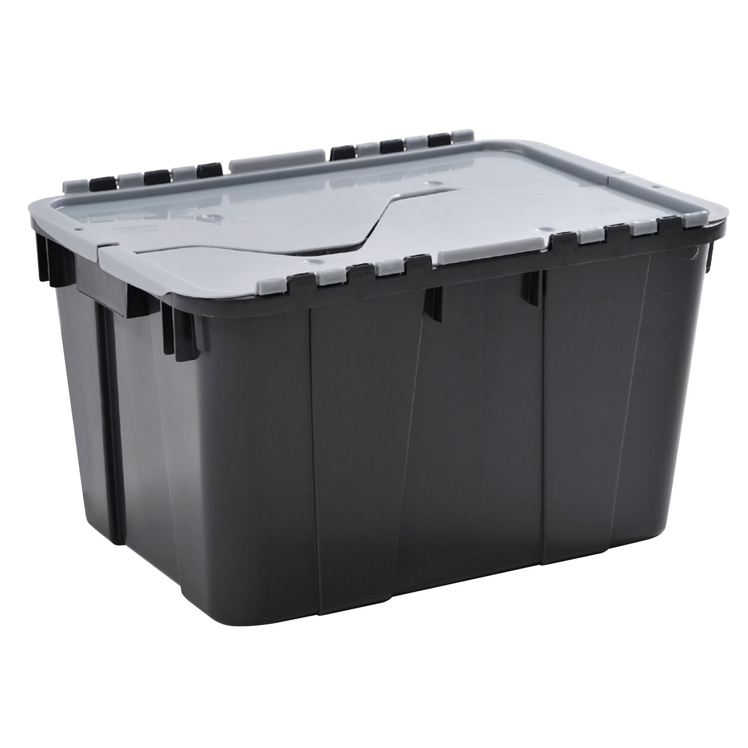 curver heavy duty tuff crate with lid leekes. Black Bedroom Furniture Sets. Home Design Ideas