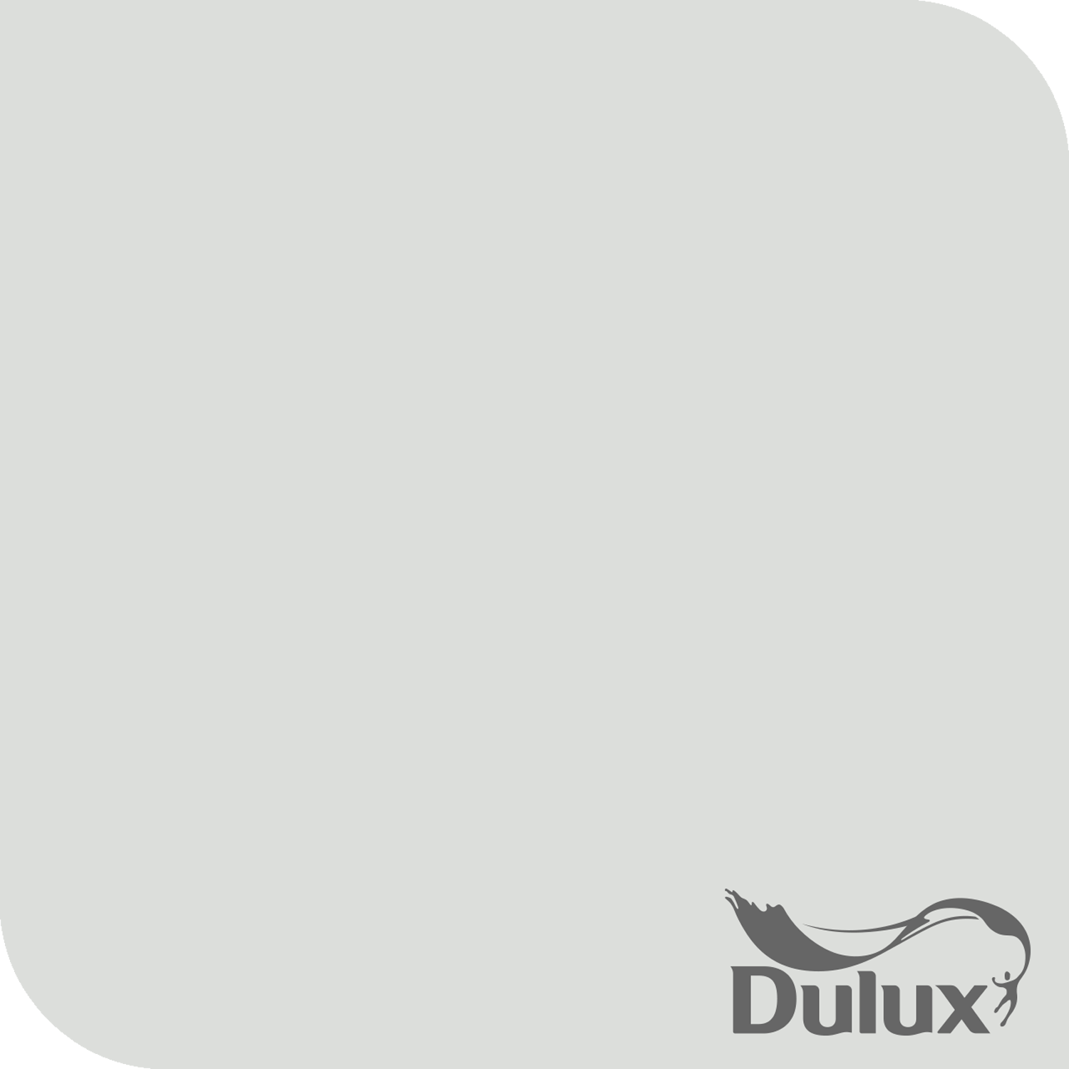 dulux 2.5l day at the beach paint, pearl grey | leekes