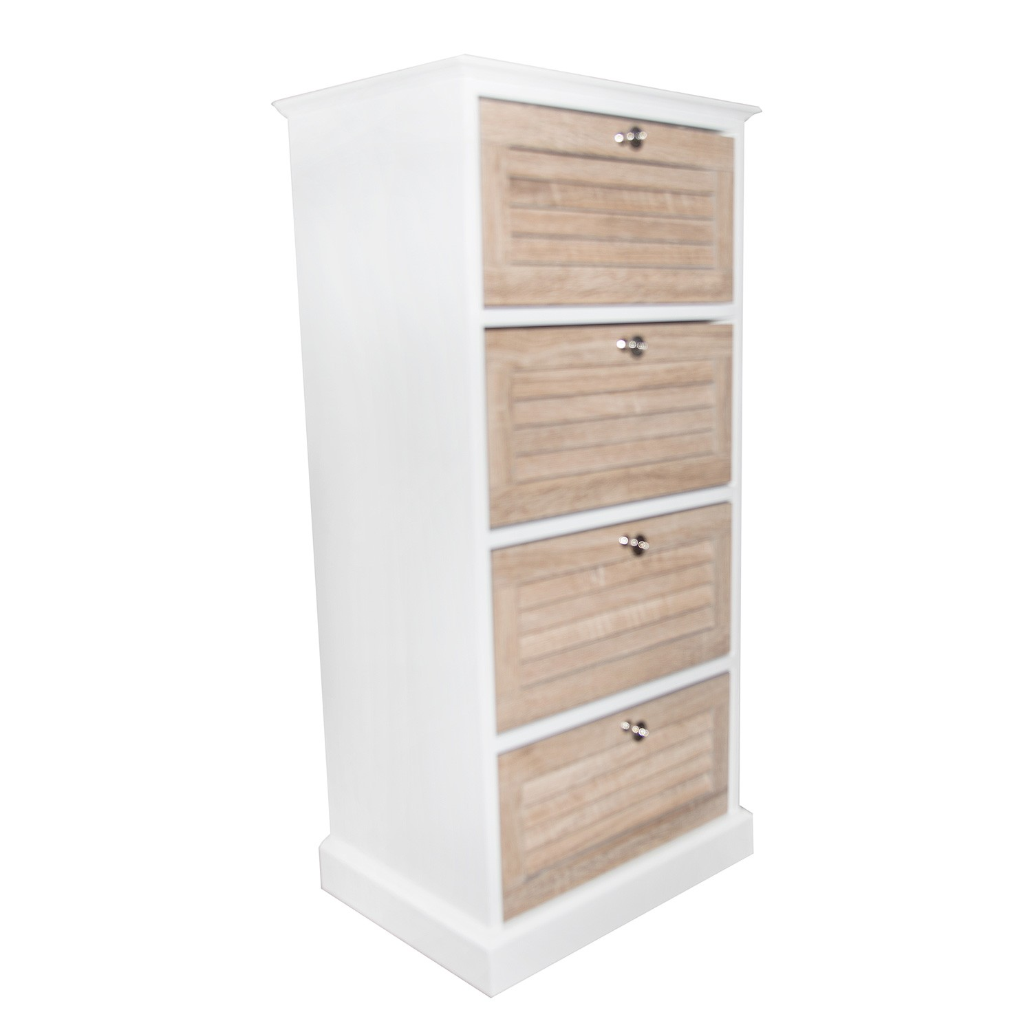 Casa vermont 4 drawer bathroom floor cabinet leekes for Bathroom floor cabinet with drawer