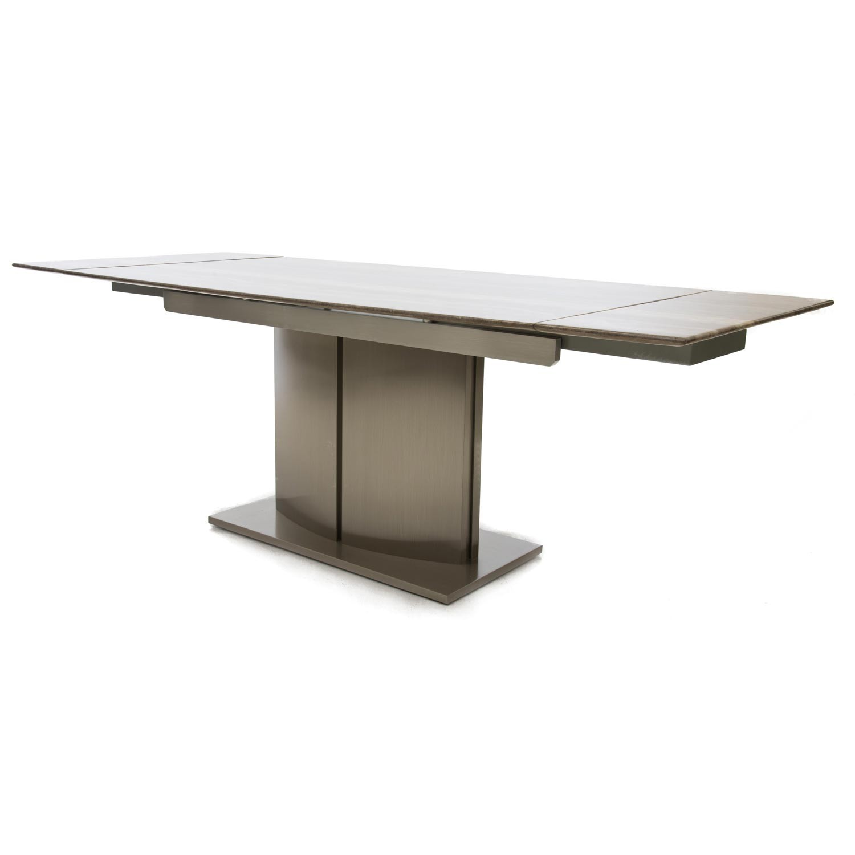 Casa wave extending dining table table multi leekes