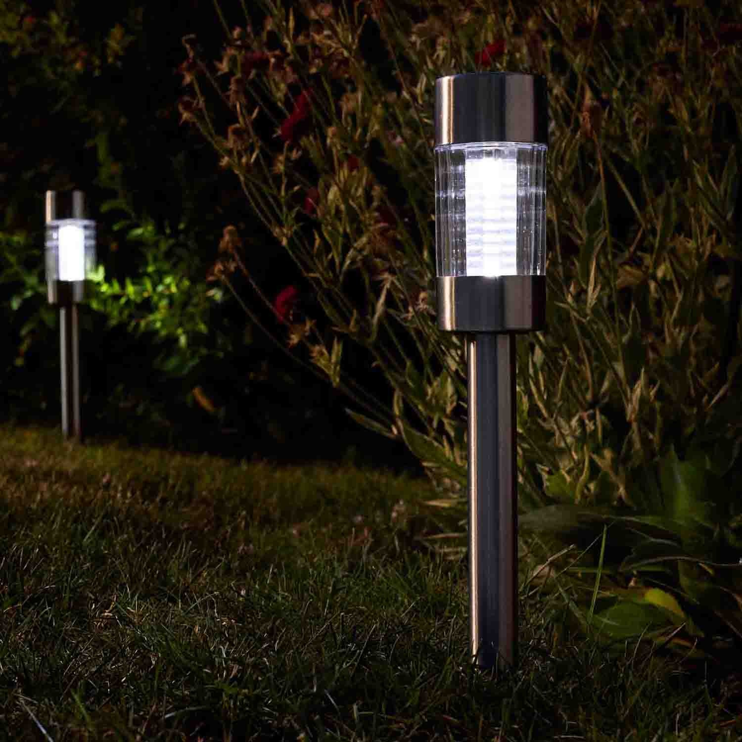 smart garden flare solar lights pack of 5 leekes. Black Bedroom Furniture Sets. Home Design Ideas