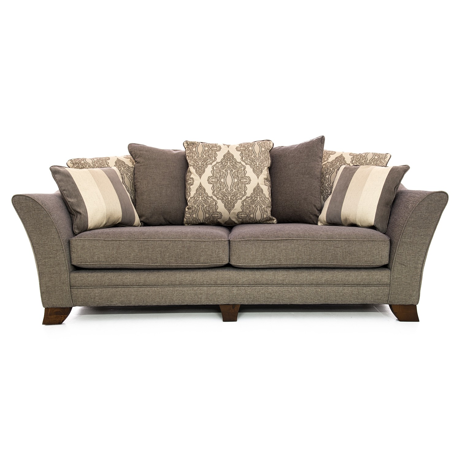 Casa harvey 4 seater pillow back sofa leekes for Perez 4 seater pillow back sectional sofa