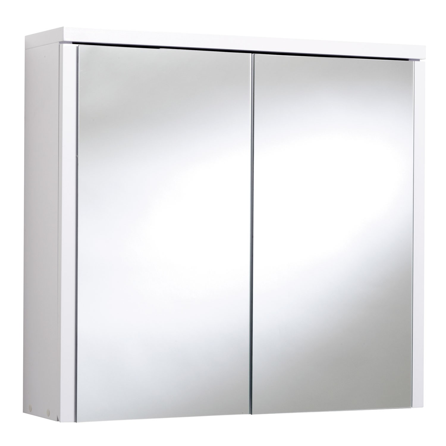 Croydex Swivel 2 Door Bathroom Cabinet With Mirror White