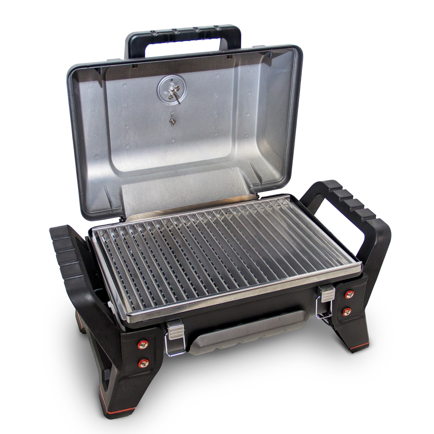 char broil x200 grill 2 go portable bbq grey leekes. Black Bedroom Furniture Sets. Home Design Ideas