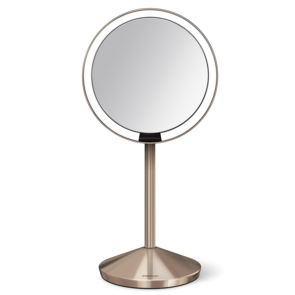 Simplehuman Sensor Mirror 12cm Rose Gold Leekes