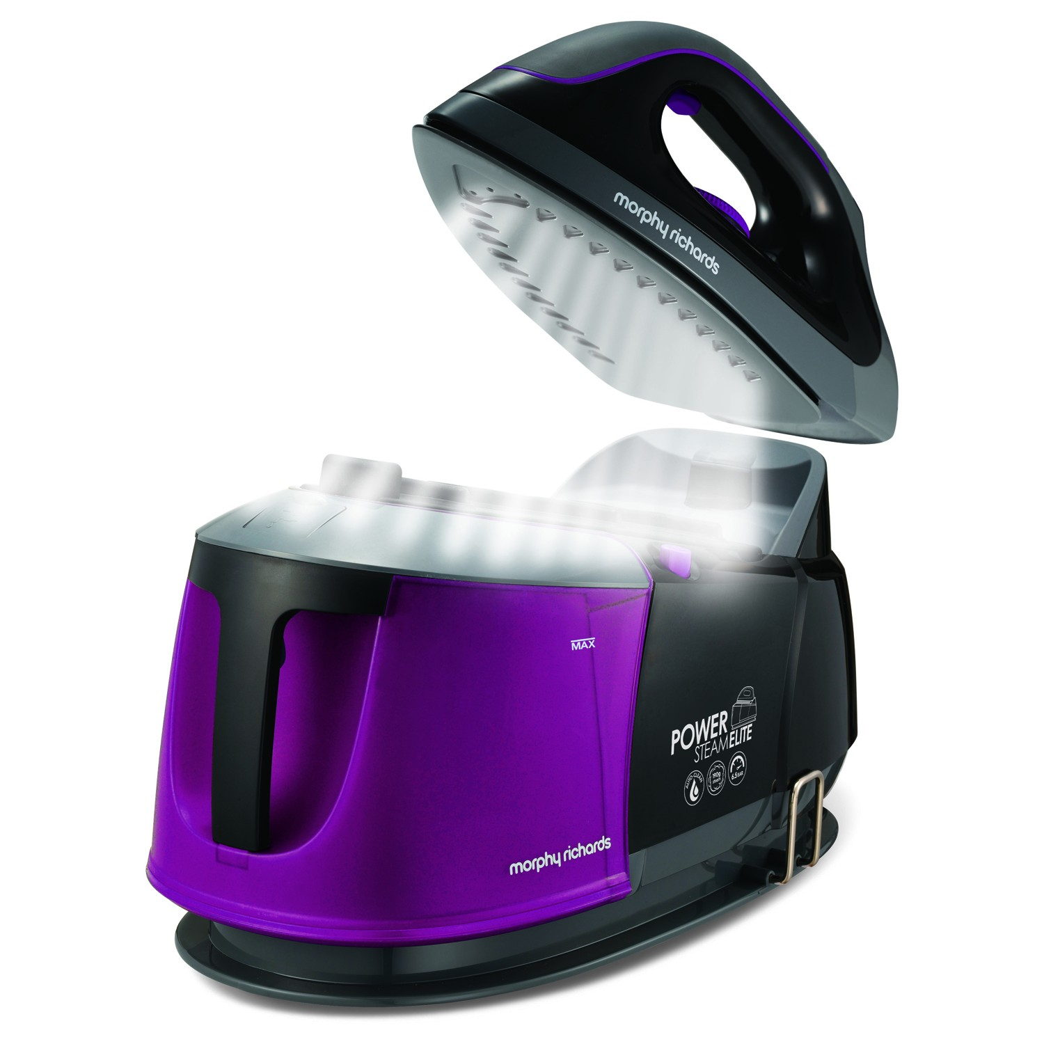 Morphy Richards Power Steam Elite 6 5 Bar Mulberry