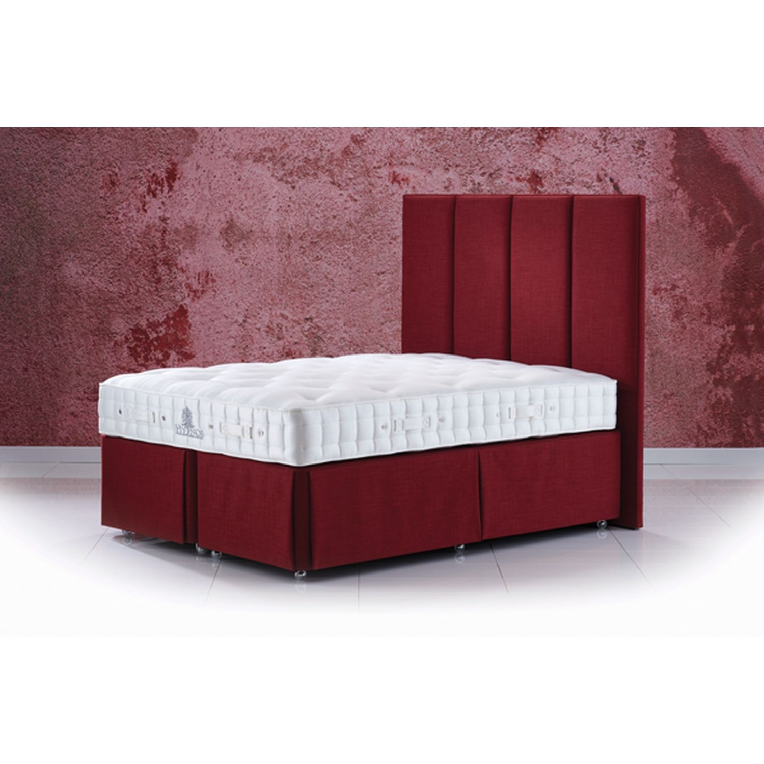 Hypnos luxury superb small double deep divan set leekes for Small double divan set