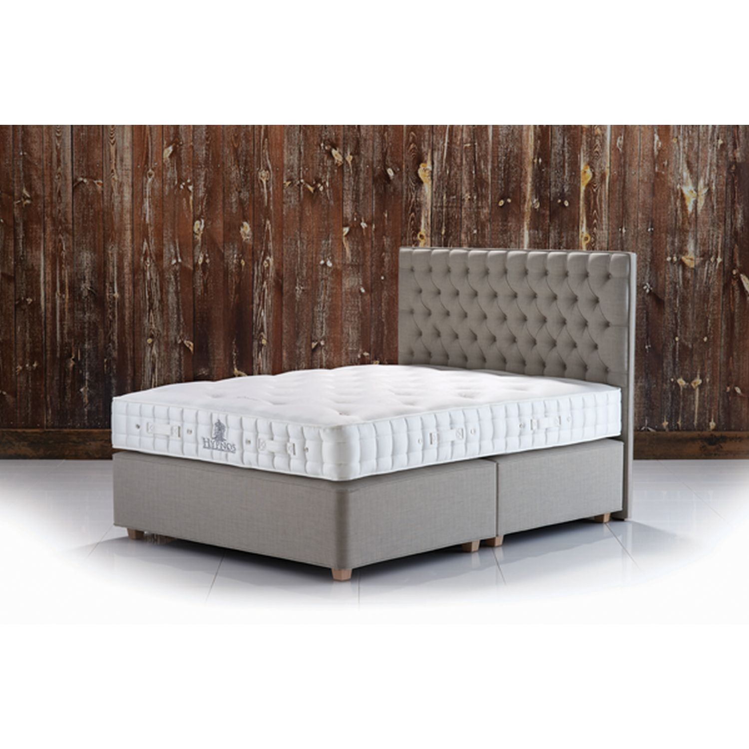 Hypnos luxury supreme small double deep divan set leekes for Small double divan set