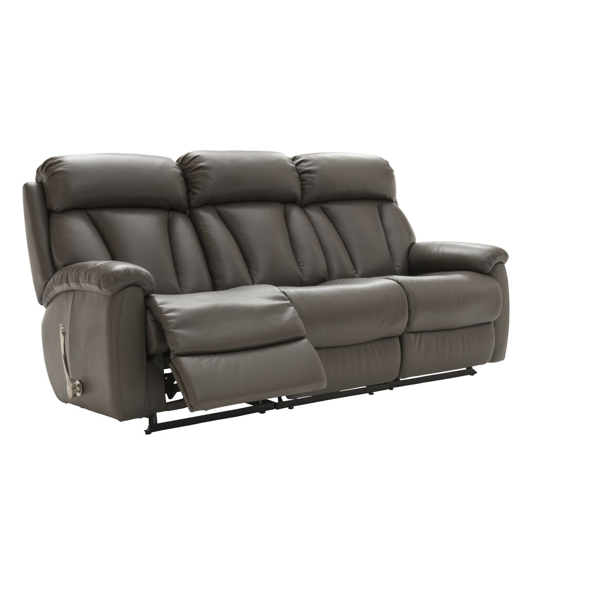 La Z Boy Georgina 3 Seater Power Recliner Leather Sofa Lee