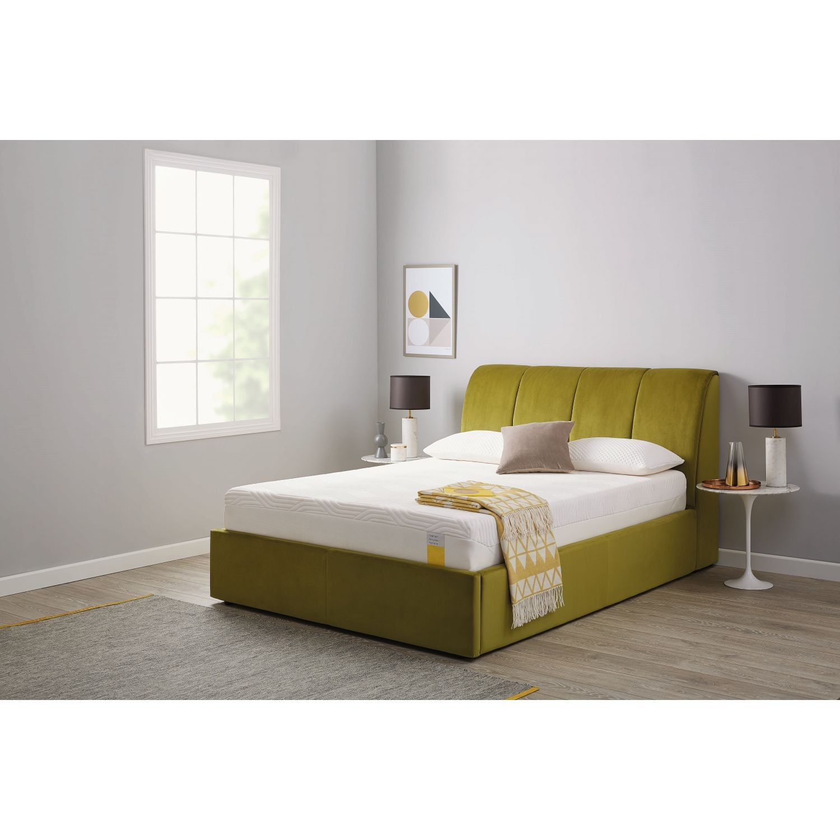 Stupendous Tempur Harrington Ottoman Bed King Machost Co Dining Chair Design Ideas Machostcouk