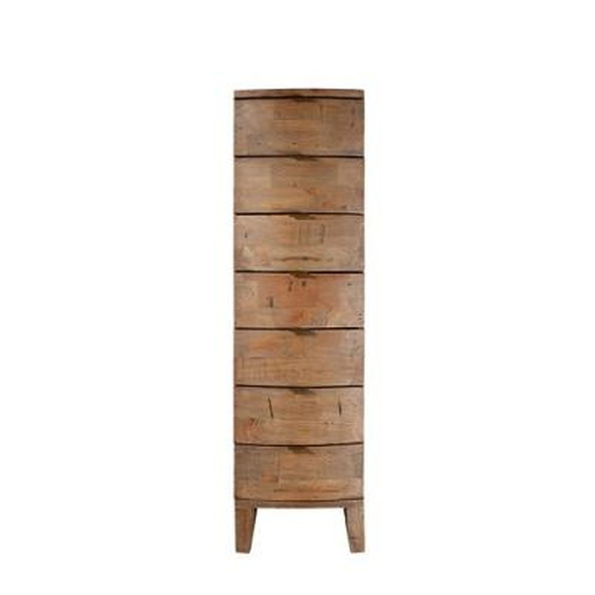 casa bermuda 7 drawer tall chest leekes. Black Bedroom Furniture Sets. Home Design Ideas