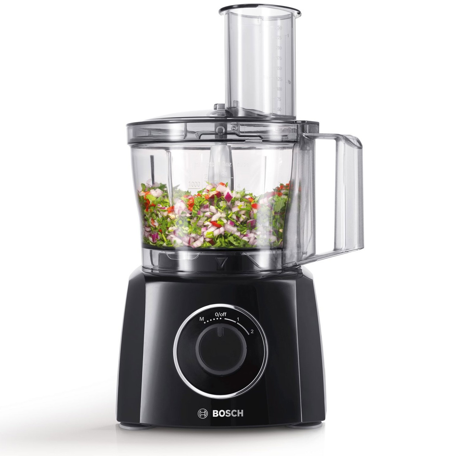 how to use bosch food processor