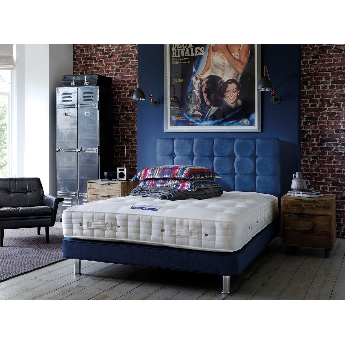 Hypnos Comfort Supreme Wool Double Mattress Leekes