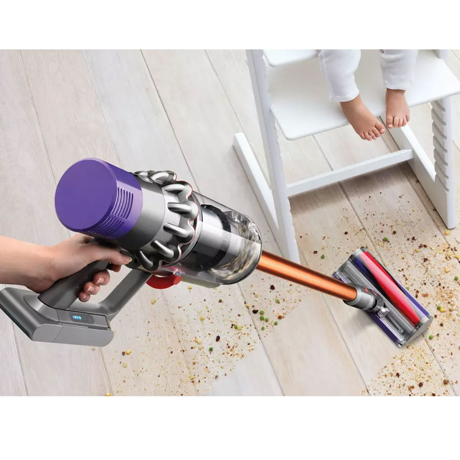 dyson cyclone v10 absolute cordless vacuum cleaner leekes. Black Bedroom Furniture Sets. Home Design Ideas
