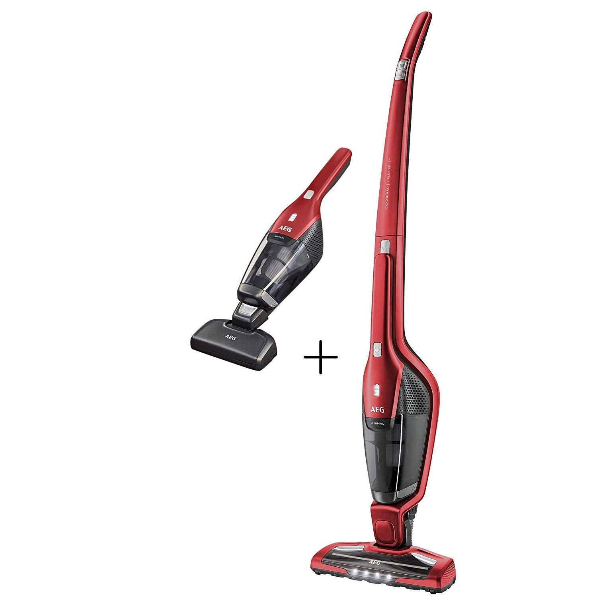 AEG CX7 2 45AN Cordless Pet Handheld Vacuum Cleaner, Red