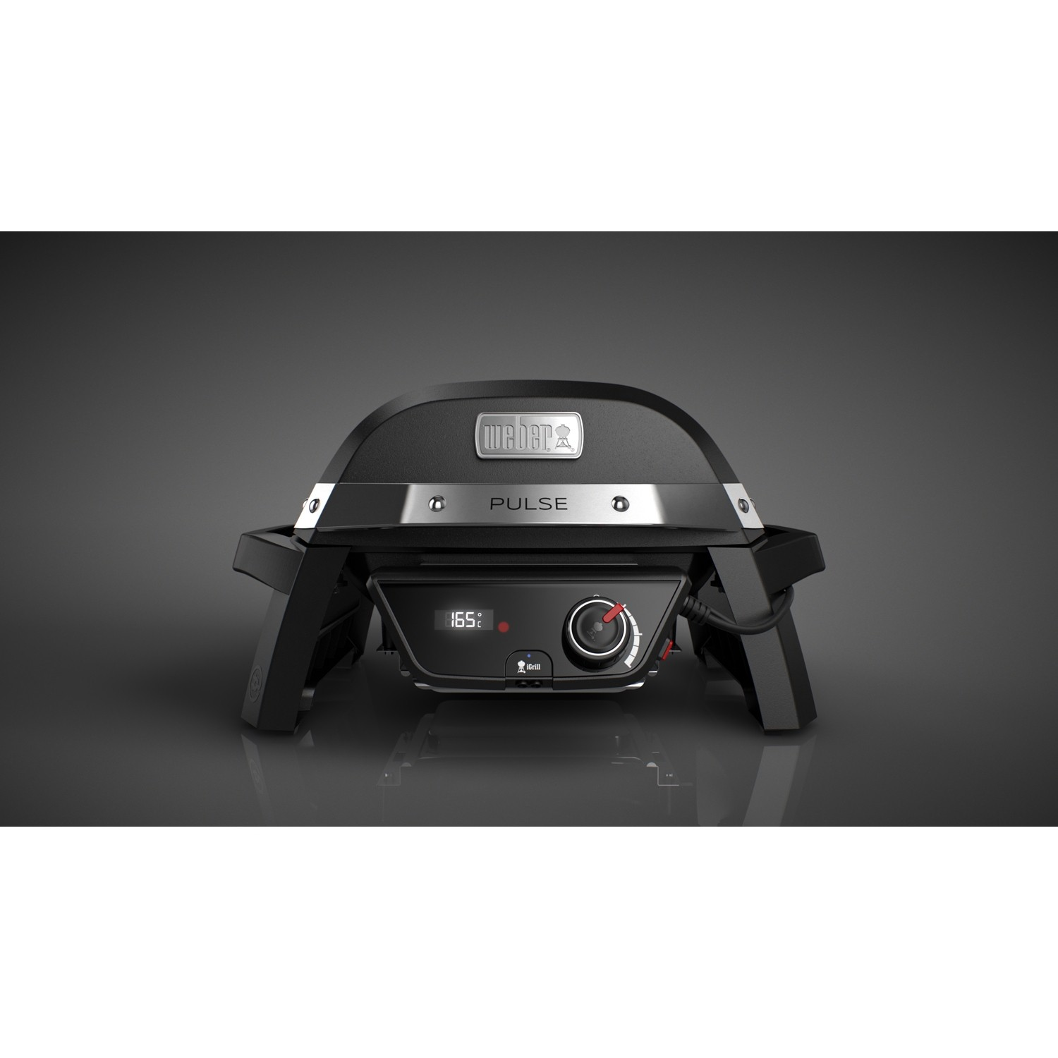 Weber Pulse 1000 Electric Barbecue, Black