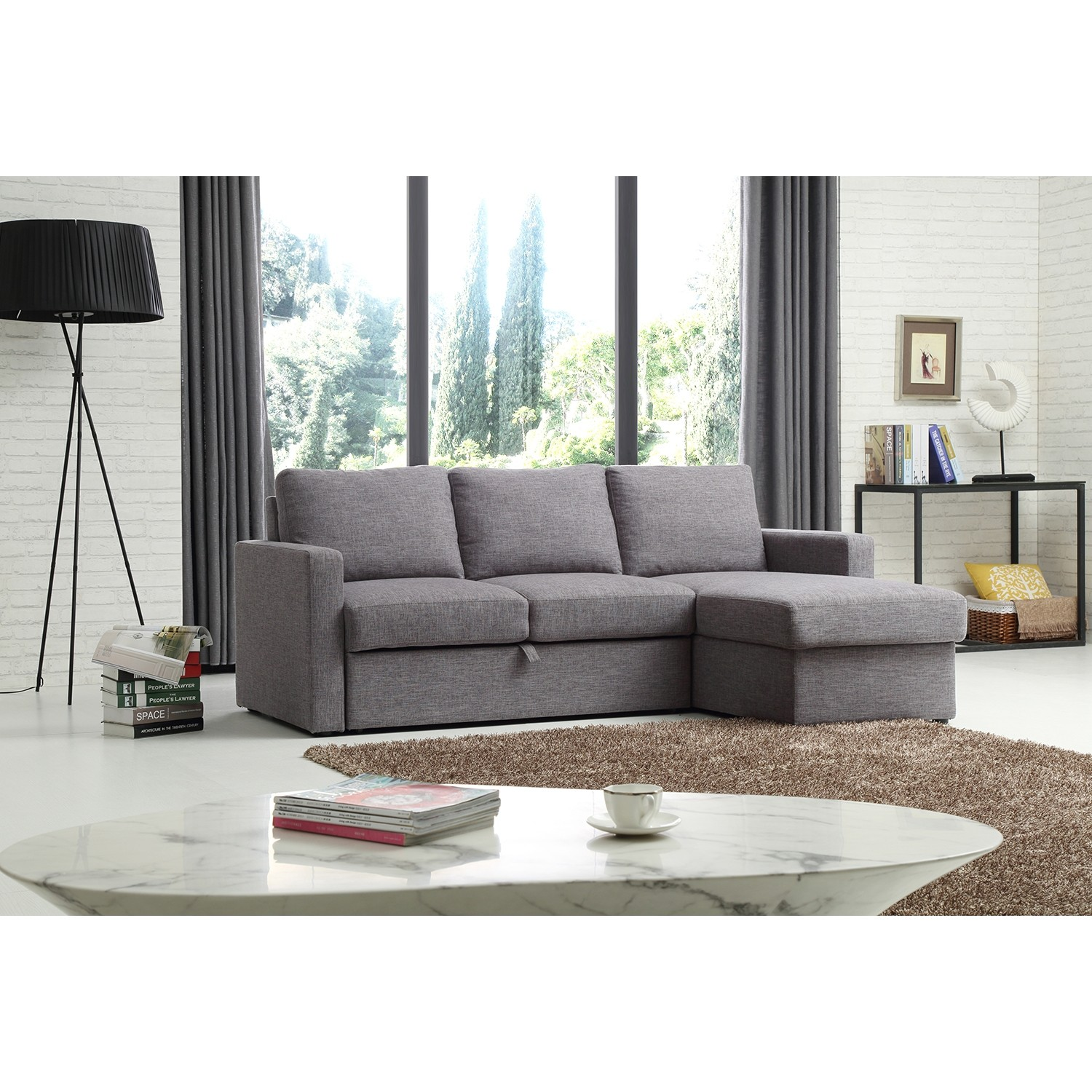 Kyoto Marty Corner Sofa bed | Leekes