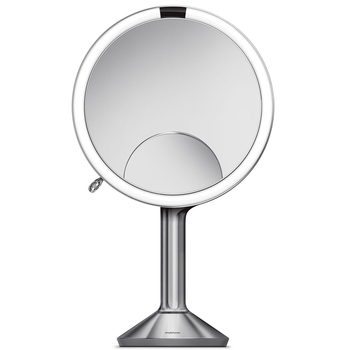 Simplehuman 20cm Sensor Mirror Trio View Brushed Steel Le