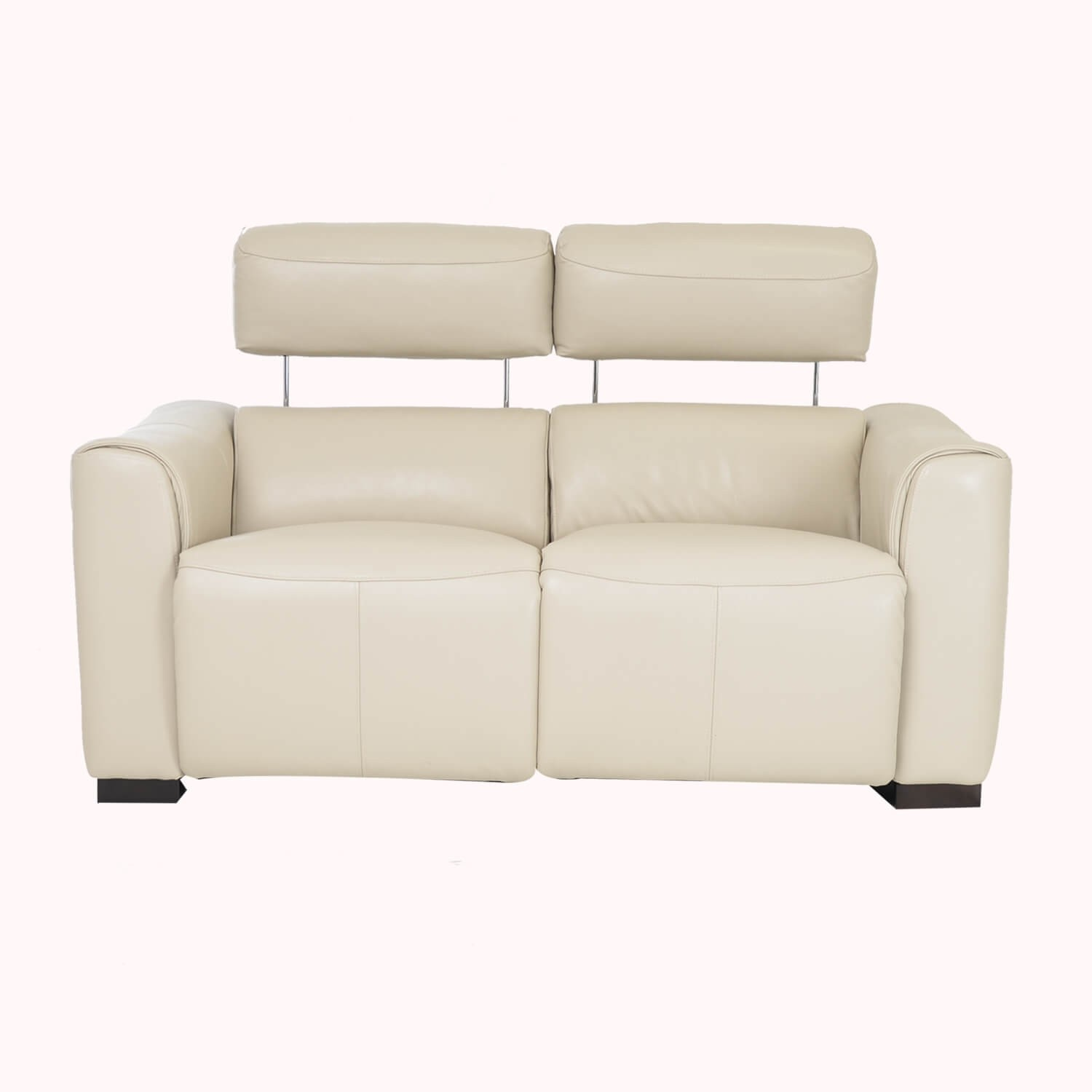 Picture of: Casa Charlie 2 Seater Power Recliner Leather Sofa Beige L