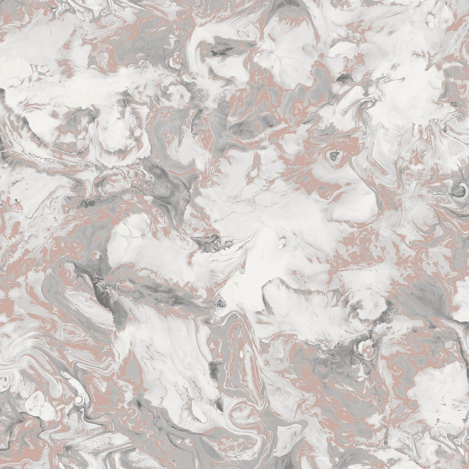 Muriva Elixir Marble Wallpaper Rose Gold Leekes