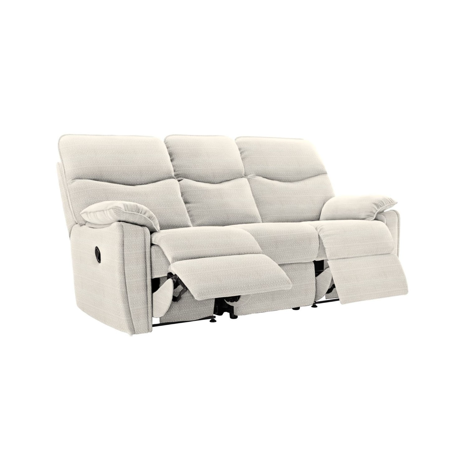 G Plan Henley 3 Seater Manual Double Recliner Fabric Sofa