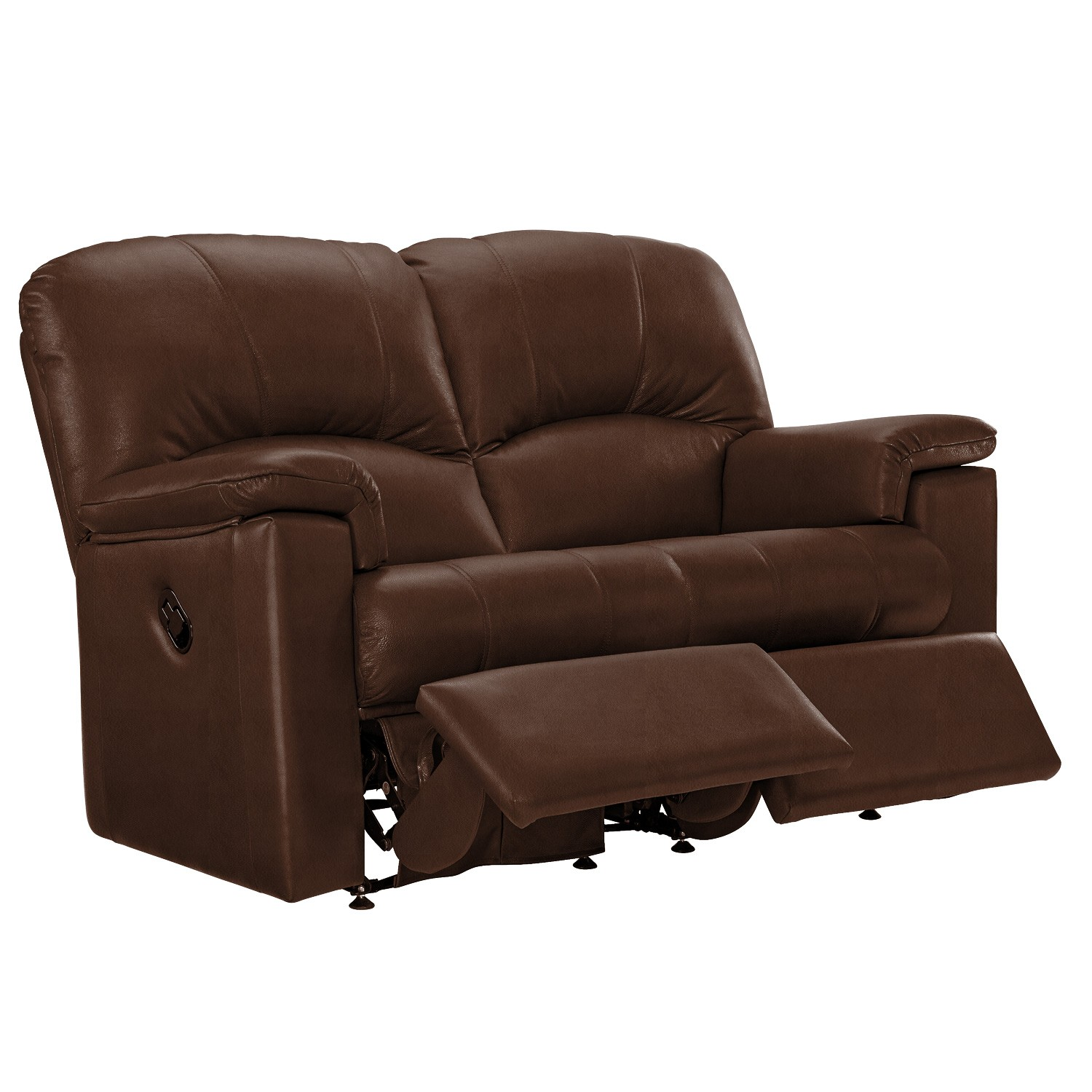G Plan Chloe 2 Seater Left Manual Recliner Leather Sofa Le