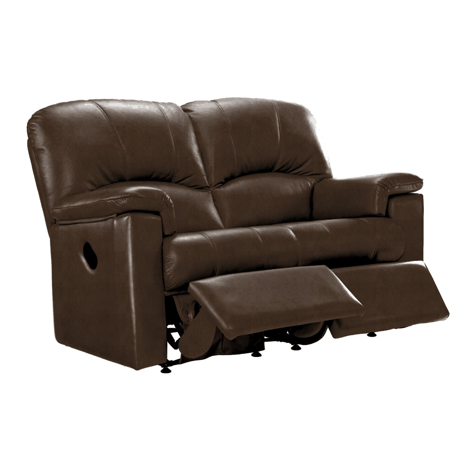 G Plan Chloe 2 Seater Double Manual Recliner Leather Sofa