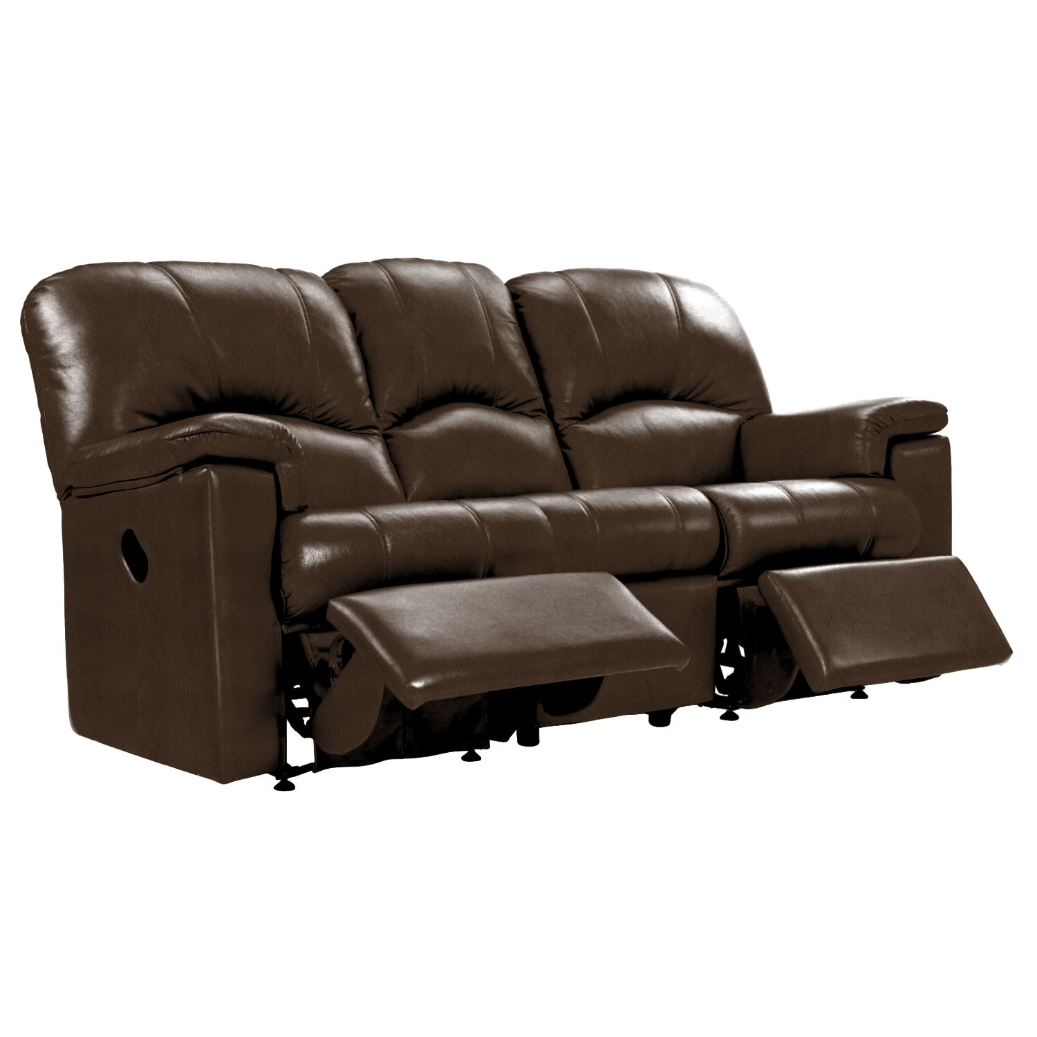 G Plan Chloe 3 Seater Double Power Recliner Leather Sofa L