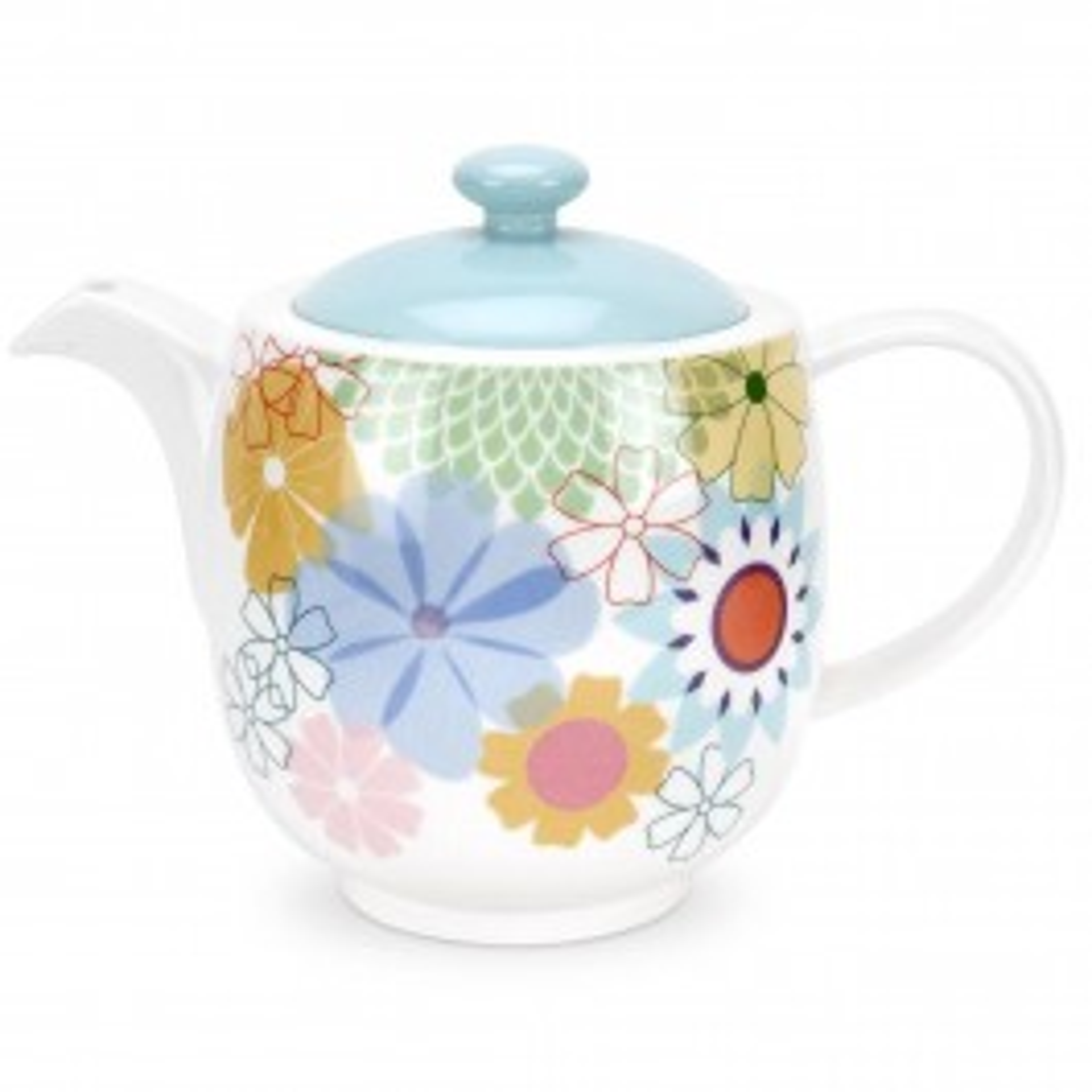 Portmeirion Crazy Daisy Tea Pot Leekes