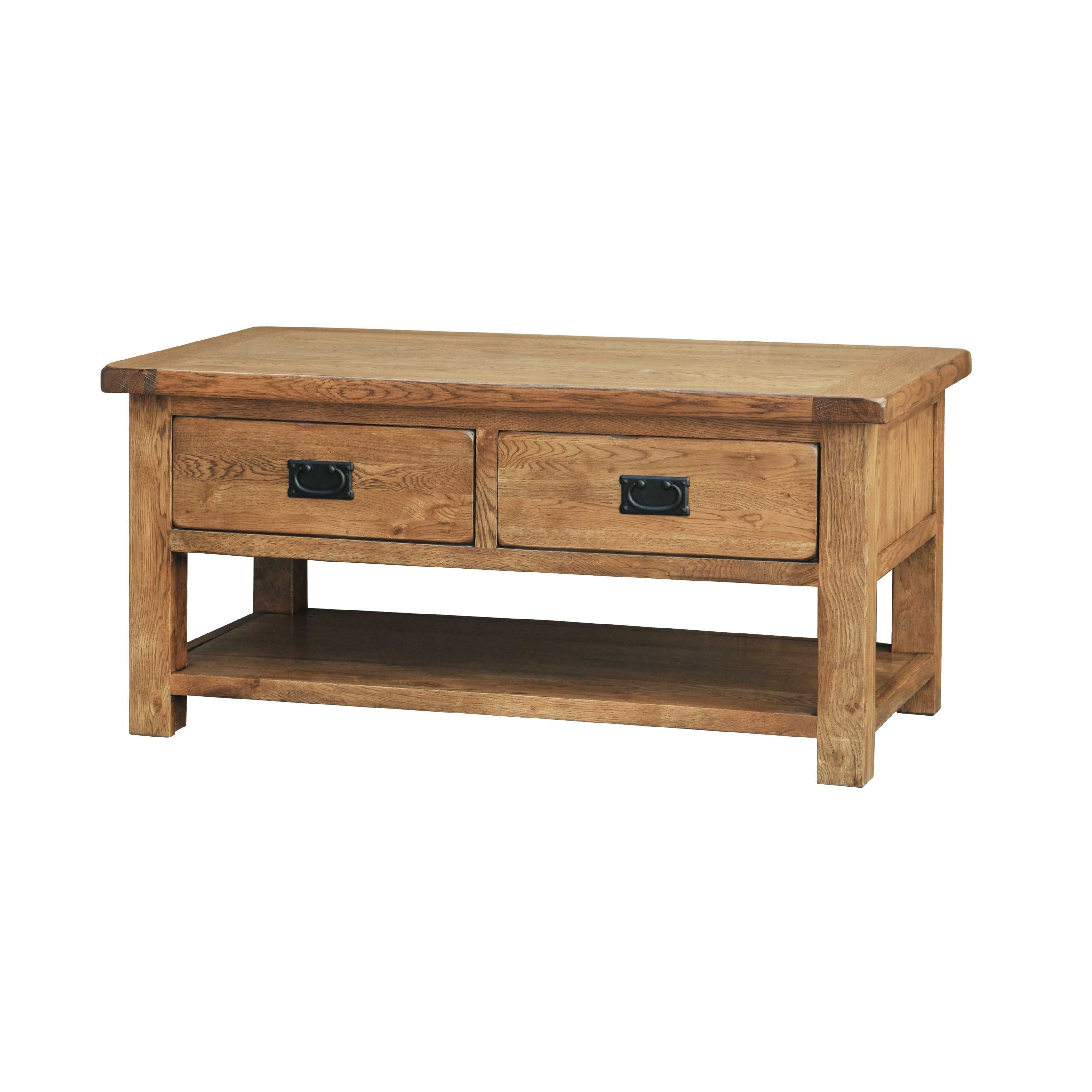 Casa bordeaux coffee table with drawers leekes Coffee table drawers