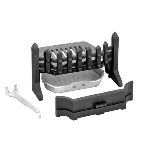 Manor Guardette Solid Fuel Kit, Black