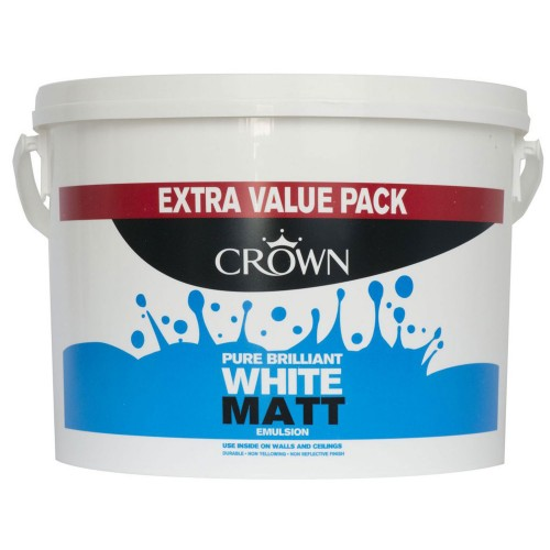 Crown 6l Matt Pure Brilliant White