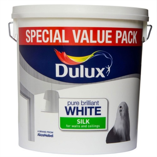 Dulux 6l Silk Pure Brilliant White
