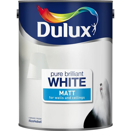 Dulux 6l Matt Pure Brilliant White