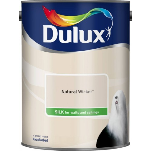 Dulux 2.5l Silk Standard Emulsion Paint, Wicker