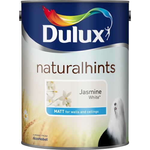 Dulux 2.5l Matt Emulsion, Jasmine White