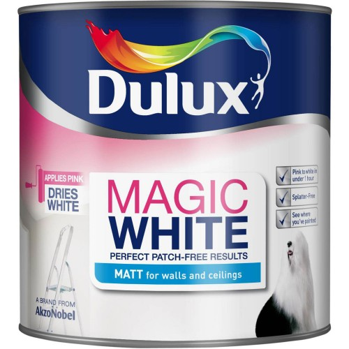 Dulux 5lt Magic White Matt