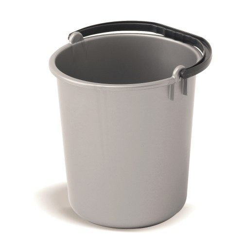 Addis 9 Litre Bucket, Metallic