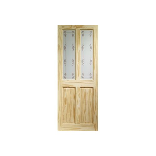 "XL Joinery 32"" Internal Knotty Pine Victorian Door"