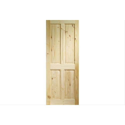 "XL Joinery 27"" Internal Knotty Pine 4 Panel Door"