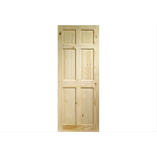 "XL Joinery 33"" Internal Knotty Pine 6 Panel Door"